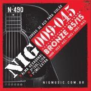Corda Para Violão Nig 009 N-490