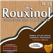 Corda Para Violão Rouxinol Nylon R-56 Tensão Media