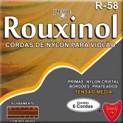 Corda Para Violao Rouxinol Nylon R-58 Tensao Media