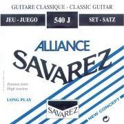 Corda Para Violão Savarez Nylon 540j Alta Tensão Alliance