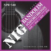 Encordoamento Nig Para Bandolim NPB-540