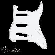 Escudo Fender Branco para Guitarra Strato SSS