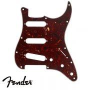 Escudo Fender para Guitarra Strato 3 Camadas Tortoise