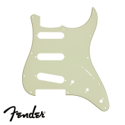 Escudo Fender para Guitarra Strato SSS Mint Green