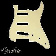 Escudo Fender Parchment Strato Creme
