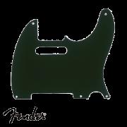 Escudo Fender Preto Para Telecaster 3 Camadas
