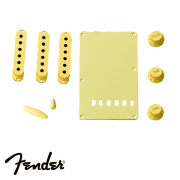 Kit Fender Acessórios Plástico Strato Creme