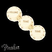 Kit Knob Fender Strato Vintage 1 Volume 2 Tones