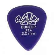 Palheta Delrin 500 2,0mm Roxa Dunlop