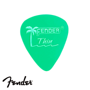 Palheta Fender California Green Thin