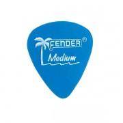 Palheta Fender Califórnia Médium Azul