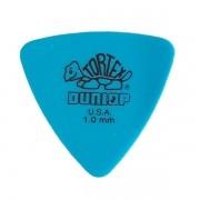 Palheta Tortex Triangles 1,0mm Azul Dunlop