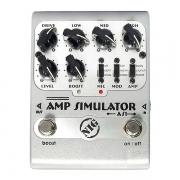Pedal Para Guitarra Amp Simulator AS1 NIG