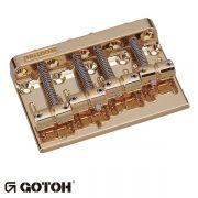Ponte Para Baixo 4 Cordas Gotoh 201b-4 Dourada