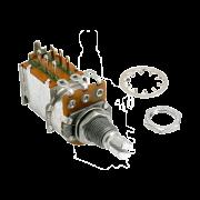 Potenciômetro Push Pull para Guitarra B 250k 16/18mm
