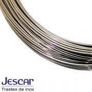 Traste Inox Jescar Extra Jumbo FW58118 Pacote Com 24UN