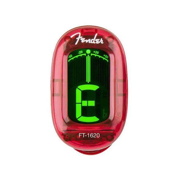 Afinador Fender Clip California Vermelho