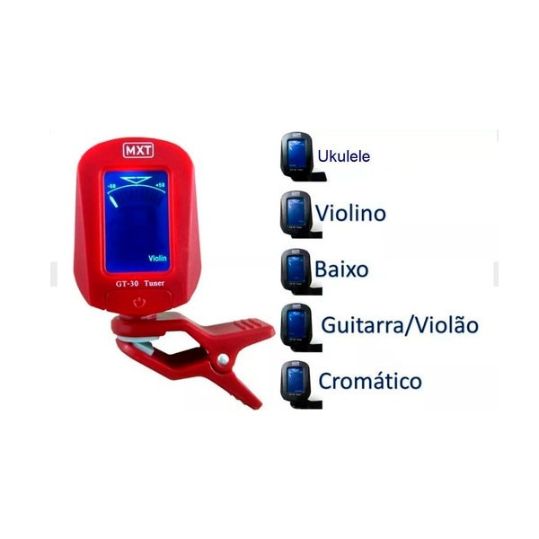 Afinador GT-30 Vermelho MXT