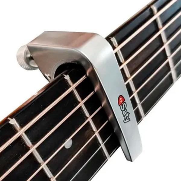 Braçadeira Capotraste Para Violão e Guitarra CT- 250 Saty