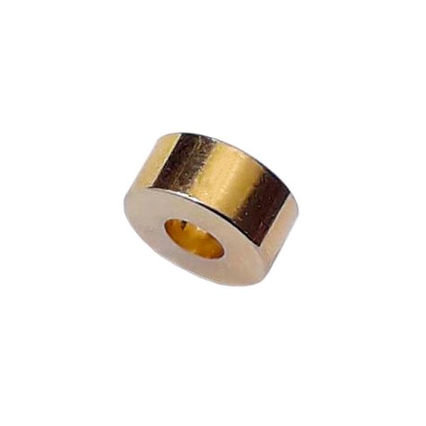 Bucha Para Parafuso de Braço Pequena Grossa Dourada