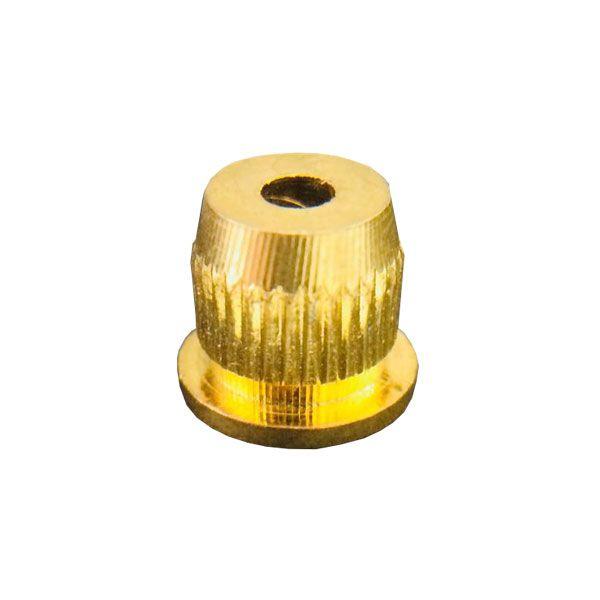Bucha Traseira Para Cordas Dourada