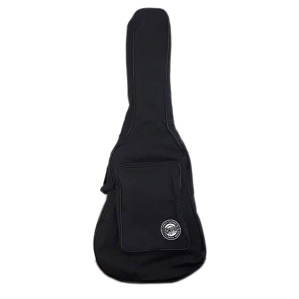Capa Estofada Para Violão Folk Jumbo Gota Preta Artshow