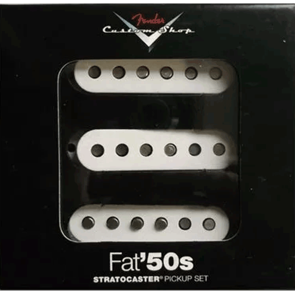 Captador Fender Custom Shop Fat 50s Trio Strato