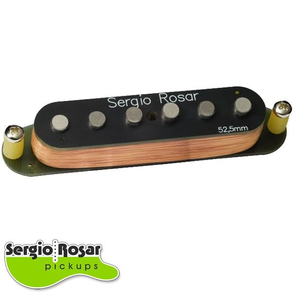 Captador Strato Sergio Rosar Blues