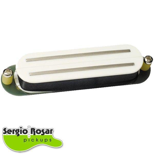 Captador Dual Blade Strato Sergio Rosar Extreme Hot Branco