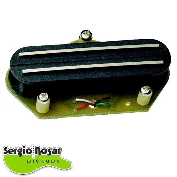 Captador  Dual Blade Telecaster Sergio Rosar Extreme Hot T Ponte Preto