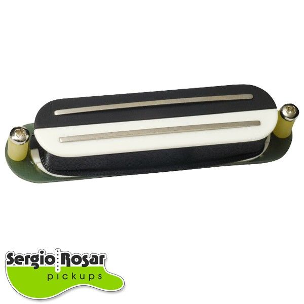 Captador Dual Blade Strato Sergio Rosar Extreme Hot Zebra Moderno