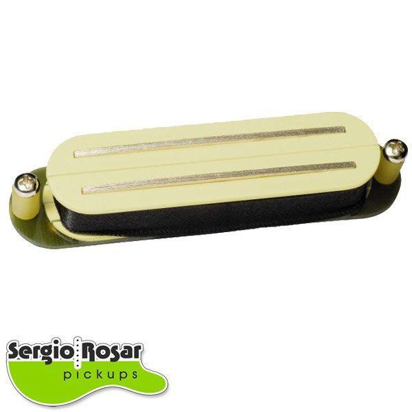 Captador Dual Blade Strato Sergio Rosar King Mid Creme