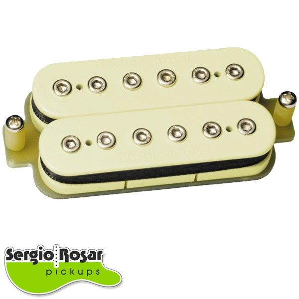 Captador Humbucker Sergio Rosar Rock King Plus Ponte Creme