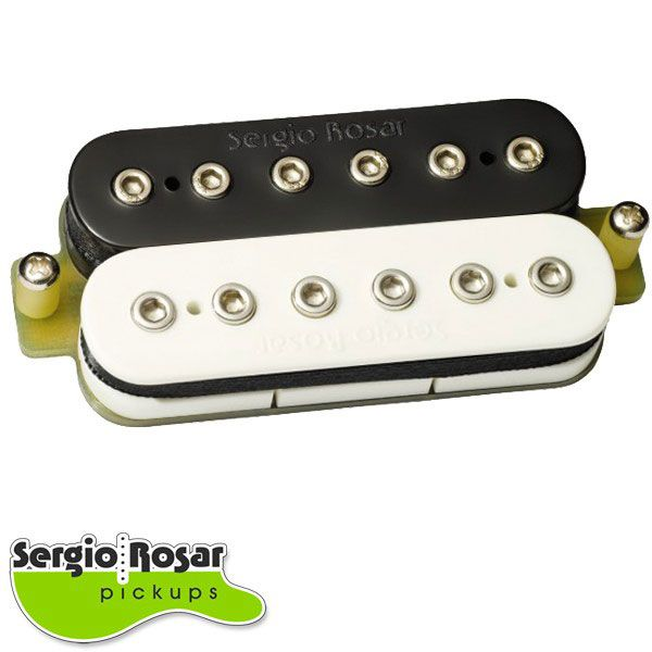 Captador Sergio Rosar Rock King Plus Ponte Zebra Vintage