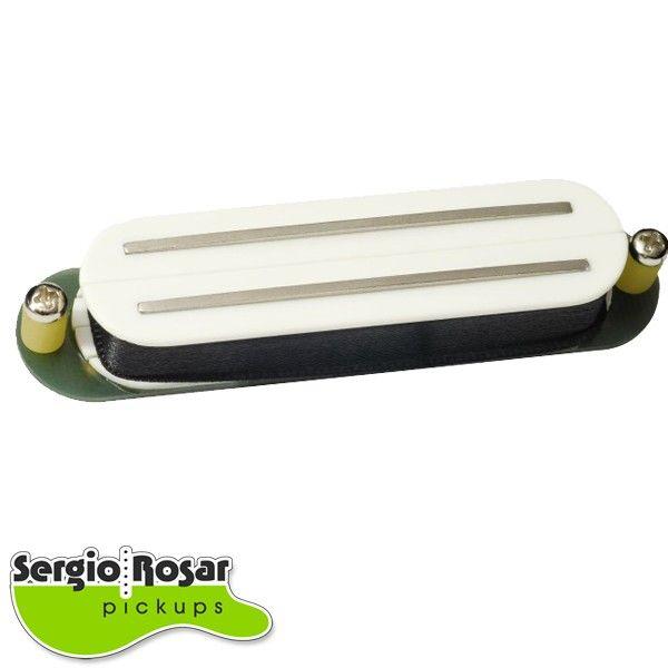 Captador Dual Blade Strato Sergio Rosar Screamin Distortion Branco
