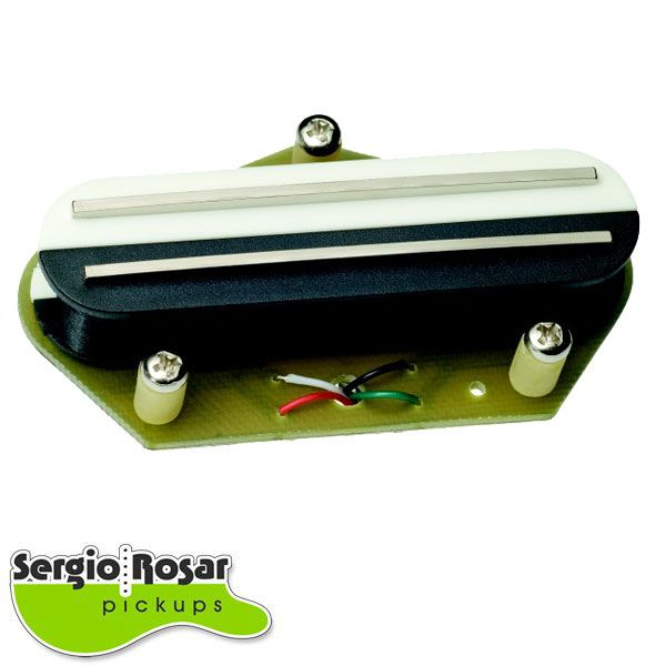 Captador Dual Blade Telecaster Sergio Rosar Screamin Distortion T Ponte Zebra Moderno