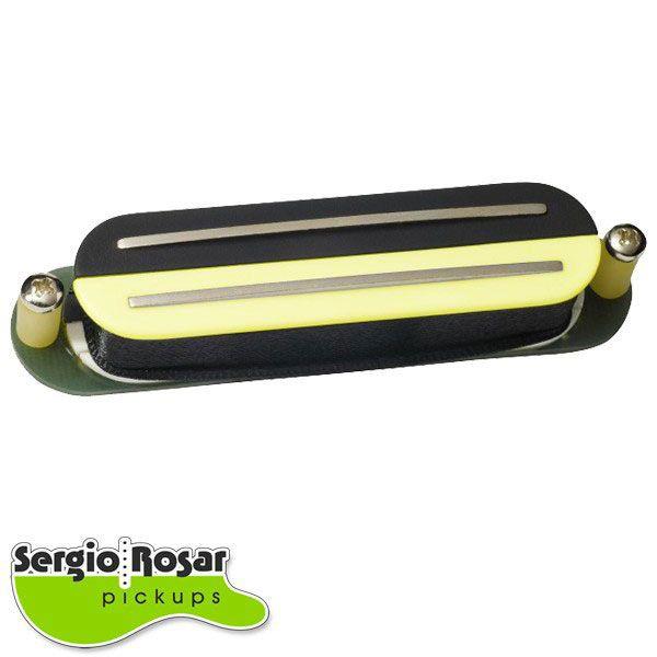 Captador Dual Blade Sergio Rosar Screamin Distortion Zebra Vintage