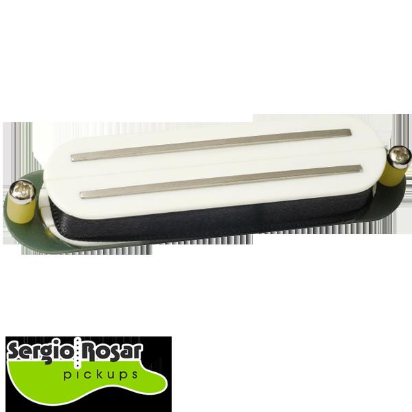 Captador Dual Blade Sergio Rosar Strat Tone Branco