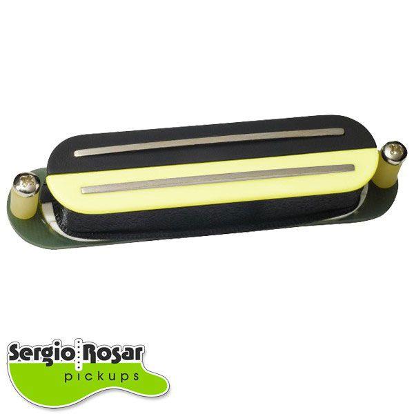 Captador Dual Blade Sergio Rosar Strat Tone Zebra Vintage