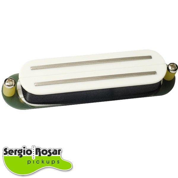 Captador Dual Blade Sergio Rosar Twin Vintage Branco