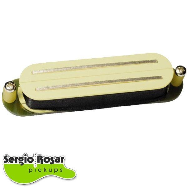 Captador Dual Blade Sergio Rosar Twin Vintage Creme