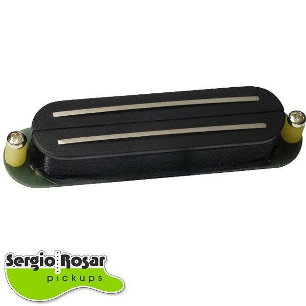 Captador  Dual Blade Strato Sergio Rosar Twin Vintage Preto