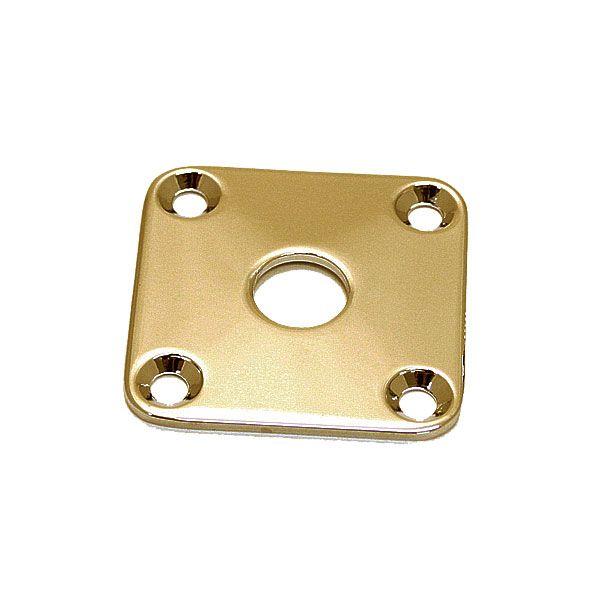 Chapa Metal Quadrada Para Jack Dourada