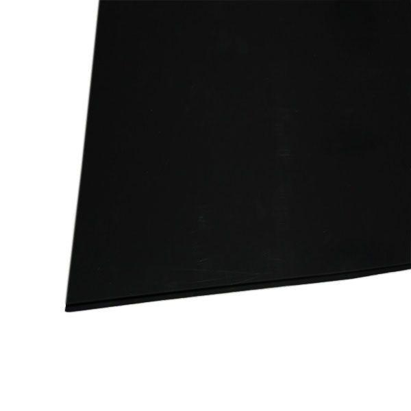 Chapa Acrílico Para Escudo 1 Camada 2mm 32,5 X 25cm Preta