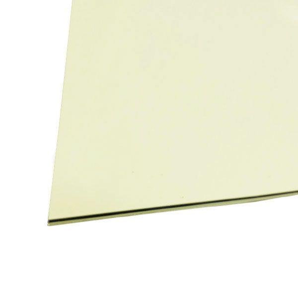 Chapa Para Escudo Parchment Sanduichado 32,5 X 25cm