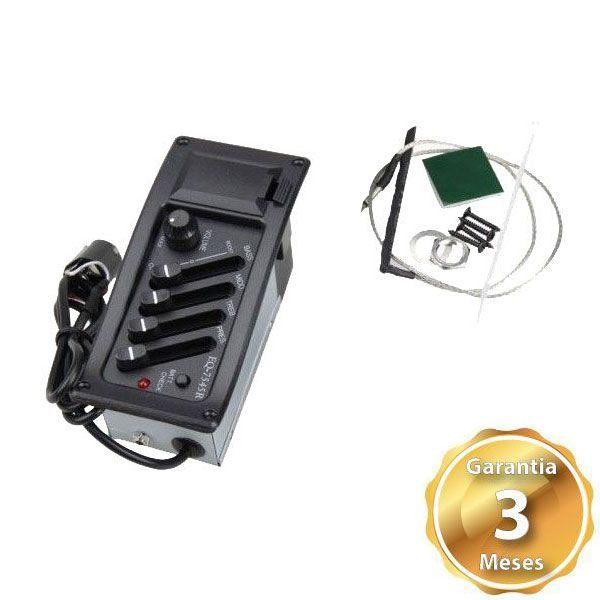 Circuito Pre Amp Para Violao EQ 7545R