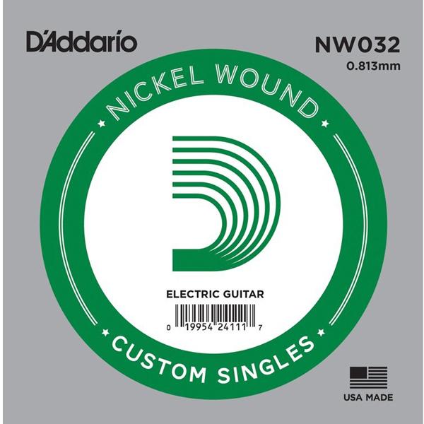 Corda Avulsa Daddario 032 Nickel Nw