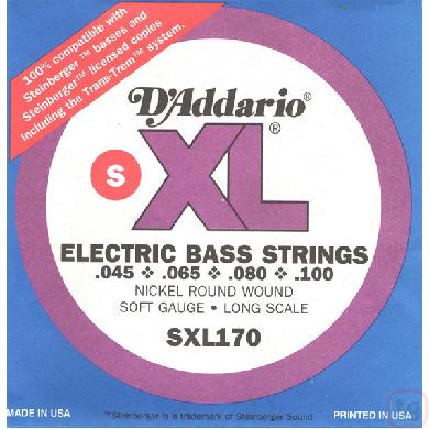 Corda Para Baixo 4 Cordas Daddario 045 Sxl170