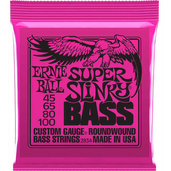 Corda Para Baixo 4 Cordas Ernie Ball 045 4c Super Slinky