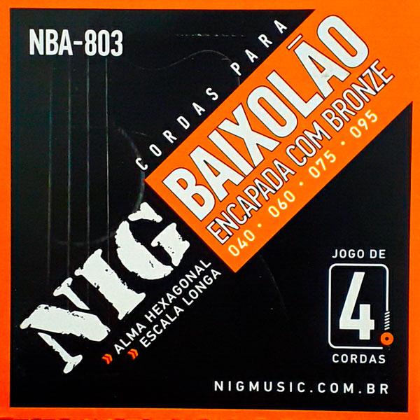 Corda Para Baixolão 4 cordas 040 NBA-803 NIG